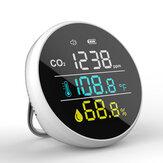 Bakeey DM1305 détecteur de CO2 température humidité mètre moniteur de qualité de l'air multifonctionnel pour la maison