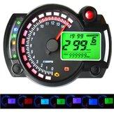 12V 15000RPM Motorcycle snelheidsmeter kilometerteller Verstelbare Waterdichte LCD Digital