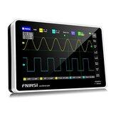 FNIRSI 1013D Tableta digital de 2 canales de 7 pulgadas Osciloscopio Ancho de banda de 100 M Frecuencia de muestreo de 1 GS / s Resolución de 800x480 Pantalla del capacitor Operación táctil y gestual Osciloscopios