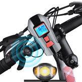 XANES SFL15 Bicicleta Luz Bicicleta Ciclismo Cuerno Computadora USB Recargable Impermeable Moto E