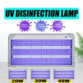 20/30/40 Вт Ультрафиолетовый бактерицидный свет Лампа Стерилизатор для дезинфекции UVC Стерилизатор Лампа Для домашнего УФ-стерилизатора Ламп