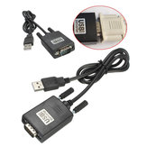 Universal RS232 RS-232 Serial para USB 2.0 PL2303 9 Pinos Cabo Adaptador Conversor de Interface