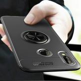 Bakeey 360 ° Вращающийся Держатель Кольца Магнитная Адсорбция Противоударный Защитный Чехол для Samsung Galaxy A40 2019