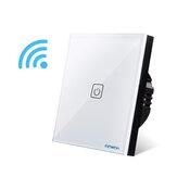 BONDA 1/2/3 Way Smart Switch Wireless Дистанционное Управление APP Контролируемый Настенный Светильник Роскошный Хрустальное Стекло Сенсорный Экран