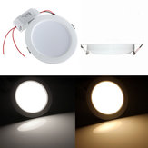 Non-dimmble 9W Round LED Recessed Ceiling Panel Down Light With Driver AC85-265V