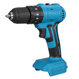 Dual Speed Brushless Impact Electric Drill 10/13mm Chuck Rechargeable Electric Screwdriver for Makita 18V Battery