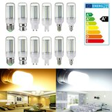 Verduisterbaar E14 / E27 / G9 / GU10 / B22 / E12 SMD4014 5W LED-lampje Corn Bulb Light Home Lamp AC220V