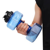 2.2L Large Dumbbell Shape Water Cup Kettle Portable Sport Gym Fitness Bottle
