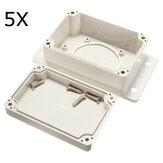5pcs 100x68x50mm blanco plástico impermeable caja de PCB caja electrónica