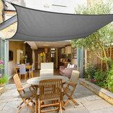 5 x 4m Instahut Sun Shade Sail Pano Shadecloth Toldo Canopy Retângulo Quadrado UV Proteção À Prova D 'Água
