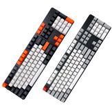 104 Anahtar OEM Profil PBT Kalınlaşmak Keycaps Klavye Tuş Seti için Mekanik Klavye