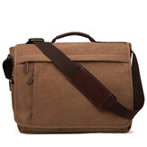 Men Large Capacity Canvas Business Laptop Bag