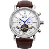 JARAGAR A540 Full Calendar Automatic Mecânico Watch