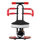 Quick Dismounting Safety Seat with Guardrail Armrest For Electric Car /Bicycle