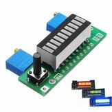 LM3914 Batterie Kapazitätsanzeigemodul LED Anzeigetafel für das Leistungsanzeigegerät