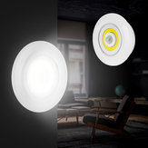 Battery Powered PIR Motion Sensor LED Night Light Stick-on Cabinet Bedside Hallway Kitchen Lamp