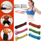 Widerstandsbänder Pull Up Assist Bands Fitness Stretching Krafttraining Natural Latex Pilates Bands