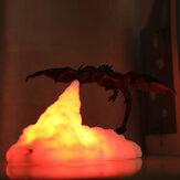 3D печать LED огонь Дракон лед Дракон лампы ночник аккумуляторная Soft свет для спальни гостиной Кемпинг