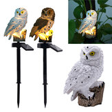 Impermeabile solare Power Owl LED Prato Light Garden Yard Landscape Ornament lampada Decorazione esterna per la casa