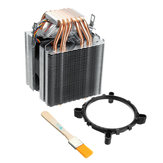 DC12V 6 Heat Pipe Computer CPU Fan Cooler Ultra-quiet Heat Sink For Lag1156/1155/1150/775