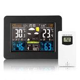 Bakeey Elektronik Kablosuz Termometre İç Mekan Higrometre / Outdoor Hava İstasyonu Alarmı Saat