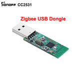 Sonoff® ZB CC2531 USB Dongle Module Bare Board Packet Protocol Analyzer USB Interface Dongle Supports BASICZBR3 S31 Lite zb