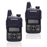 2PCS EU BAOFENG BF-T1 Frequency 400-470MHz 20 Channels Mini Ultra Thin Driving Hotel Civilian Walkie Talkie