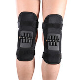 IPRee® 1 pieza Soporte de rodilla Fuerza de resorte Protector de articulación eléctrica antideslizante Rodilleras Equipo de protección de rebote Correr Baloncesto Voleibol