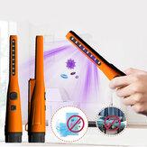 Esterilizador UV Lâmpada DC9V Pequeno Desinfetante UV Bateria Alimentado LED Esterilização por Luz Ultravioleta Para Ourdoor Medical