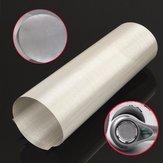 Feuille filtrante tissée de fil d'acier inoxydable de 500 mailles pour la filtration d'huile de l'eau 30 x 100cm