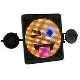 HI.GROOM LED autó interakciós képernyő hátsó ablak kijelző fedélzeti jelzőfény hang bluetooth vezeték nélküli távirányító reklám hangulatjelek graffiti barkács
