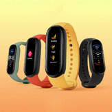 [Support English] Original Xiaomi Mi Band 5 1,1 Zoll AMOLED Armband Kundenspezifisches Zifferblatt 11 Sportmodi Tracker BT5.0 Smart Watch