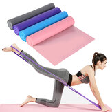 1.5M Anti-slip Yoga Stretch Elastic Strap Pilates Resistance Band Home Fitness Gym Exercise Tools