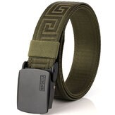 125CM Men Automatic Buckle Military Nylon Cintura