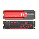 BlitzWolf BW-NV5 M.2 NVMe Game SSD Solid State Drive 512GB NVMe1.3 PCIe 3.0x4 SSD Solid State Disk