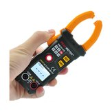 PEAKMETER PM2016S 6000 Counts True RMS Multimeter NCV Test V/A/Ω Auto Scan Clamp Meter