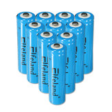 4Pcs Elfeland 18650 3000mAh 3.7V Rechargeable Li-ion Battery