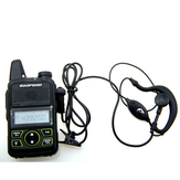 Walkie Talkie Headset Earphone Line Single Y Head For Baofeng T1 UV-3R U8 U3