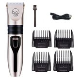 Elettrico Capelli Clipper Pettine Set Capelli Trimmer Lama Cat Dog Horse Pet Grooming Cordless