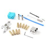 Zestaw wytłaczarki dyszy z silikonową obudową termistor wlot rury grzewczej do drukarki Sidewinder X1 / Genius 3D Printer