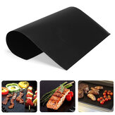 2/3/5pcs BBQ Grill Mat Non-stick Heat Resistance Cooking Grilling Sheet Pad Outdoor Camping