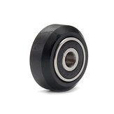 Machifit CNC Solid V Wheels for V-slot Linear Rail System Aluminum Extrusions Profile Accessories