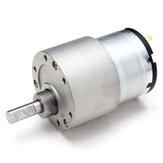 SILNIK CHIHAI 12 V DC Metalowy reduktor biegów Silnik GM37-3525 Silnik skrzyń biegów DC o wysokim momencie obrotowym