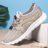 Men Sports Mesh Breathable Light Weight Casual Walking Shoes
