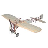 Tony Ray's AeroModel Bleriot XI V2 420mm Wingspan 1/20 Scale Balsa Wood Laser Cut RC Airplane Warbird KIT With Wheels & Covering Filme