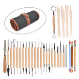 30Pcs Ceramics Clay Sculpture Tool Craft Sculpting Set Pottery Modeling Kit