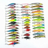 ZANLURE 43PCS 320g lockt Minnow-Angelköder Spinning River Sea Lakes Köder