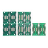 10pcs TSSOP28 SSOP28 para DIP28 SOP28 Placa PCB de transferência DIP Pin Board Pitch Adapter