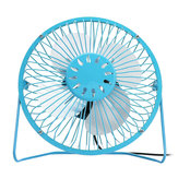 6 Inch USB Small Desk Fan Portable 4 Blades Cooler Cooling Fan For Camping Travel
