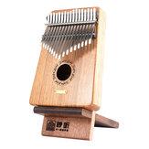 Přenosný stojánek na displej Kalimba s palcovým stojanem na klavír pro Kalimbu 17 Key Kalimba